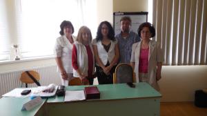 Trénercsapatunk egy része a Debreceni Foglalkoztatási Központban