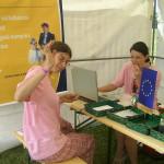 EU támogatáshoz zászló is jár