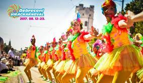 Debreceni virágkarnevál táncosai