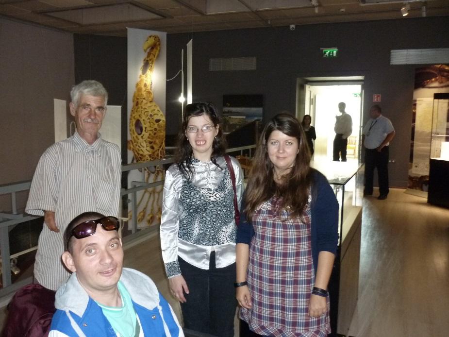 A déri múzeum munkatársai szívesen fogadják a fogyatékkal élőket