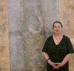 Holb Margit Textilművész kiállításán jártunk